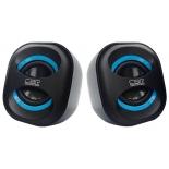 компьютерная акустика CBR CMS 333, Черно-голубая