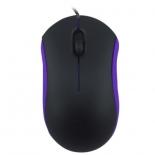 Мышка Ritmix ROM-111, черно-фиолетовая, купить за 265руб.