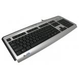 Клавиатура A4Tech KLS-23MU, Серебристо-черная, купить за 975руб.