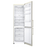 холодильник LG GA-B499YEQZ, бежевый