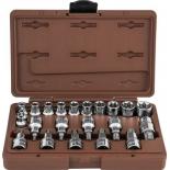набор инструментов Ombra 953222 Torx, торцевые головки, 22 предмета