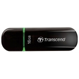 usb-флешка Transcend JetFlash 600 16Gb, Черная