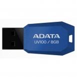 usb-флешка ADATA UV100 8GB, Синяя