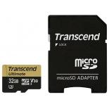 карта памяти Transcend TS32GUSDU3M, Черная