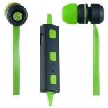 наушники Perfeo Sound Strip, Зелено-черные