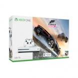 игровая приставка Microsoft Xbox One S 500 ГБ +Forza Horizon 3, Белая