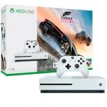 игровая приставка Microsoft Xbox One S+Forza Horizon 3, Белая