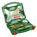 набор инструментов Bosch X-Line 70 Ti (2607019329), биты и свёрла, 70 предметов