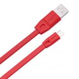 кабель / переходник Remax Full speed RC-001m, 1 м (USB - microUSB), красный