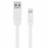кабель / переходник Remax Lightning-USB Full speed (RC-001i) белый