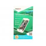 защитное стекло для смартфона Onext для Apple iPhone 7 Plus (с рамкой белое)