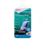 защитное стекло для смартфона Onext для Samsung Galaxy A3 2017 (с черной рамкой)