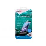 защитное стекло для смартфона Onext для Samsung Galaxy A7 2017 (с белой рамкой)