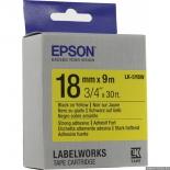 лента для печати наклеек Epson LK-5YBW, желтая
