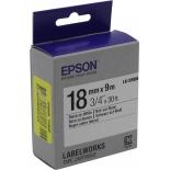 лента для печати наклеек Epson LK-5WBN, белая