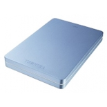 жесткий диск Toshiba CANVIO ALU 1TB, голубой (HDTH310EL3AA)