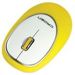 мышка CROWN CMM-931W (yellow)