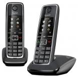радиотелефон Dect Gigaset C530 DUO, чёрный