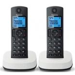радиотелефон Panasonic KX-TGC312RU2 Черный/Белый