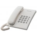 проводной телефон Panasonic KX-TS2350RUW Белый
