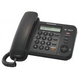 проводной телефон Panasonic KX-TS2358RUB Черный