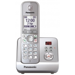 радиотелефон DECT Panasonic KX-TG6721RUS Серебристый