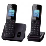 радиотелефон DECT Panasonic KX-TGH212RUB Черный