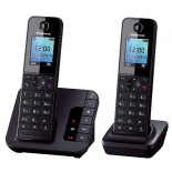 радиотелефон DECT Panasonic KX-TGH222RUB Черный