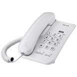 проводной телефон TeXet TX-212 светло-серый