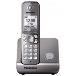 радиотелефон DECT Panasonic KX-TG6711RUM Серый металлик