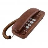 проводной телефон TeXet TX-226 Коричневый мрамор