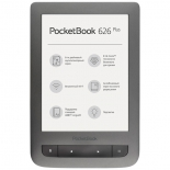 электронная книга PocketBook 626 Plus, серый