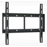 кронштейн Holder LCD-F4610-B, черный, 32-65'', до 60 кг, настенный, фиксированный