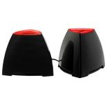 компьютерная акустика CROWN CMS-278, чёрно-красные