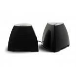компьютерная акустика CROWN CMS-278, чёрно-серебристые