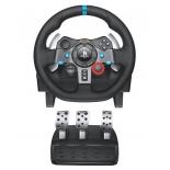 руль и педали игровые (комплект) Logitech G29 Driving Force (проводной комплект - руль и педали, для ПК, PpalyStation 3 и 4)