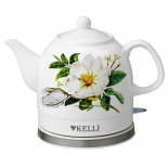 чайник электрический Kelli KL-1468, белый
