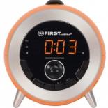 Радиоприемник First FA-2421-6 оранжевые, радио-часы