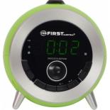 Радиоприемник First FA-2421-6 зеленые, радио-часы