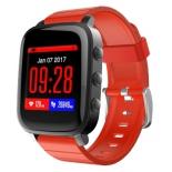 Умные часы SMA Time, черно-красные
