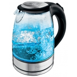 чайник электрический Scarlett SC-EK27G14 серебристый