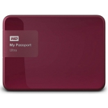 жесткий диск Western Digital MY Passport ULTRA 500 Gb (WDBBRL5000ABY-EEUE), красный