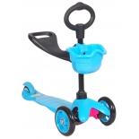 самокат 21st Scooter Maxi Scooter, синий