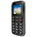 сотовый телефон Ginzzu R12D, чёрный