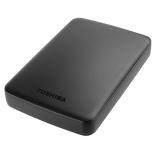 жесткий диск Toshiba USB 2000Gb Canvio Basics черный