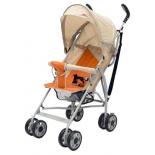 коляска Baby Care Hola, светло - серый / терракот