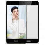 защитное стекло для смартфона Glass PRO+ Huawei Nova Full Screen чёрное изогнутый экран