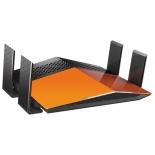 роутер WiFi D-link DIR-879, Черно-оранжевый