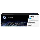 картридж для принтера HP 201X Голубой (увеличенной емкости)