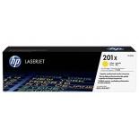 картридж для принтера HP 201X Желтый (увеличенной емкости)